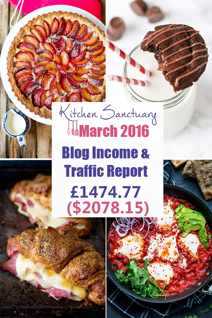 blog income and traffic report mar 2016