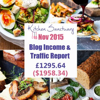 blog income and traffic report nov 2015
