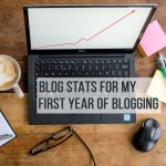 blog stats for first year of blogging