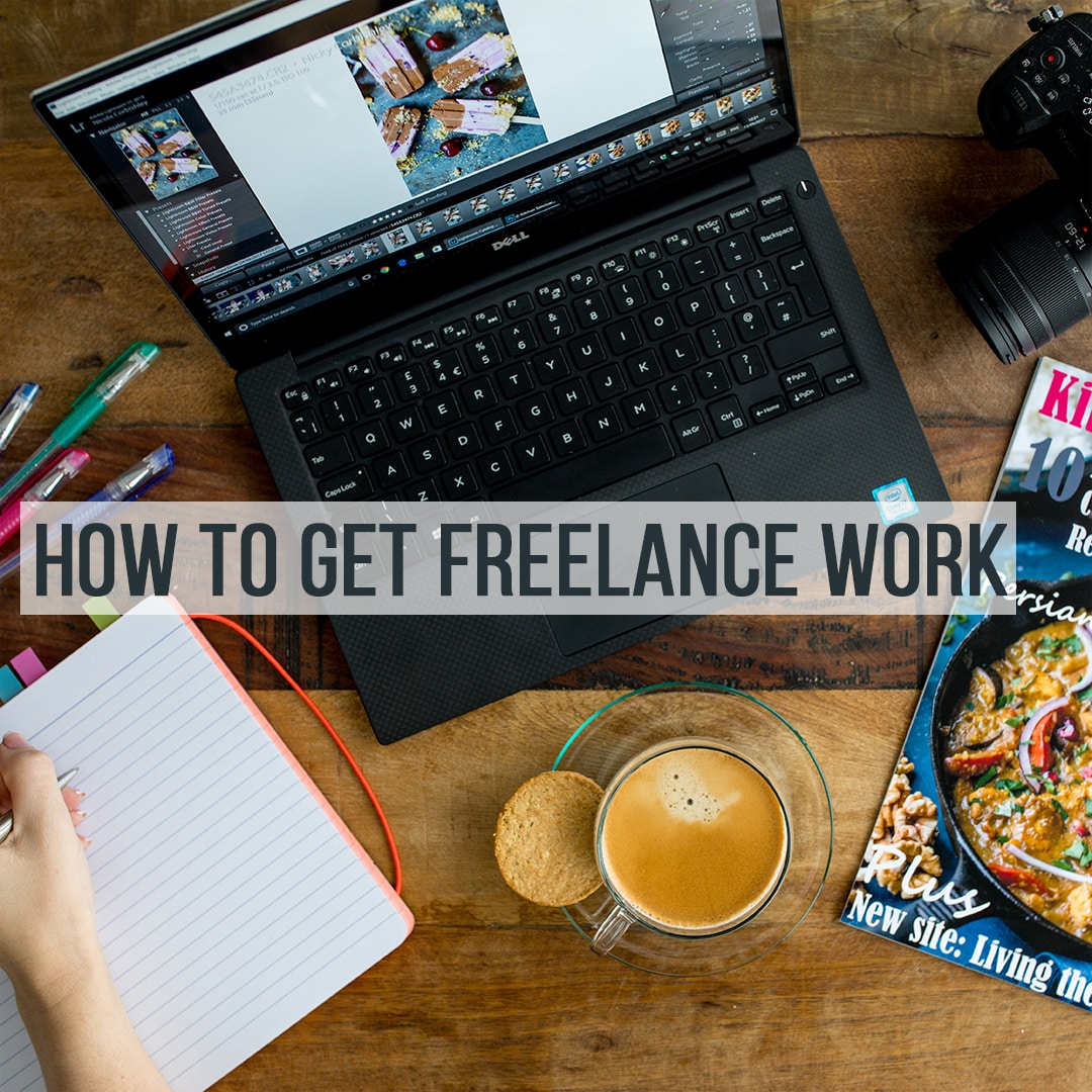 How to get freelance recipe work