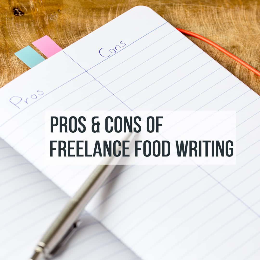 Freelance food writer jobs