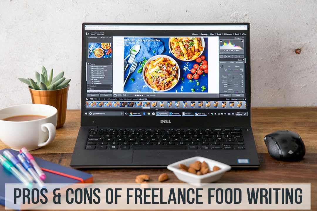 pros and cons of freelance food writing