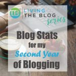 Blog and social media stats for second year of blogging