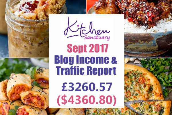 Blog income and traffic report september 2017 square